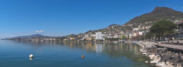 Quai de la Rouvenaz, Montreux (Bild: Google maps)