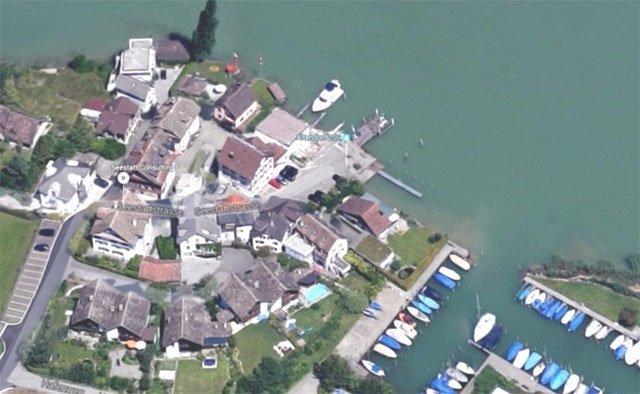Schiffssteg in Altendorf SZ(Bild: Google Maps)